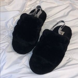 UGG FLUFF YEA SLIPPERS *WORN ONCE*